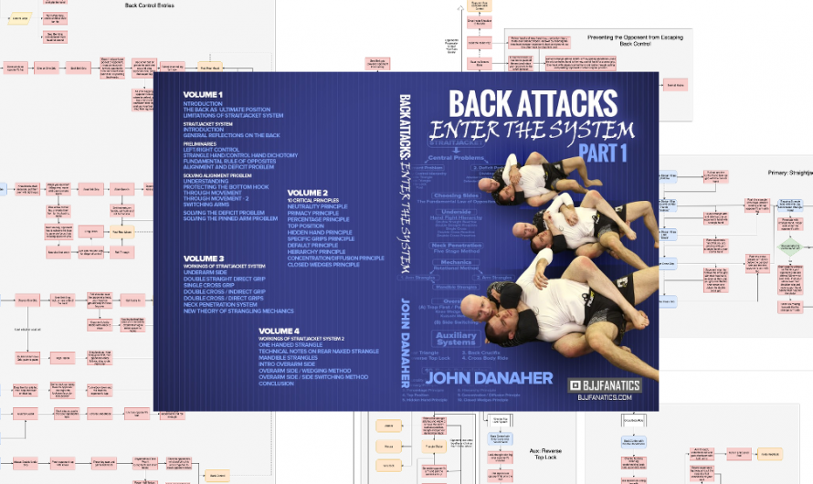 John Danaher – Enter the System – Back Attacks – Flowchart v1