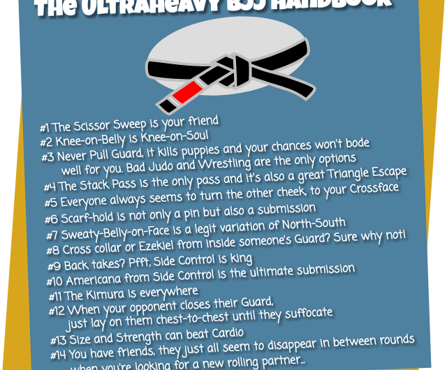 The Ultraheavy Guide to BJJ